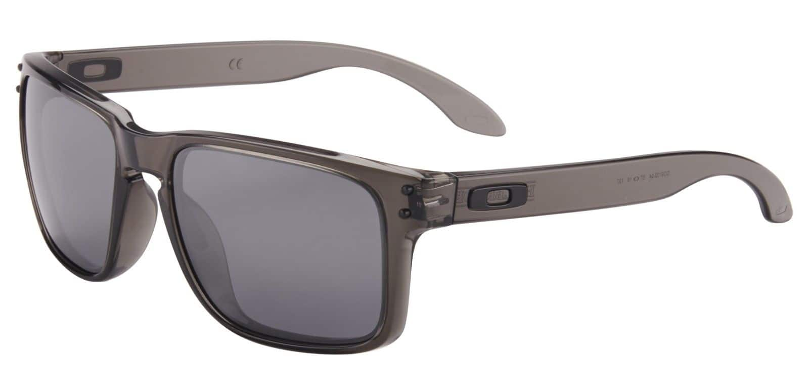 1a9e11521a Oakley Holbrook Sunglasses OO9102-24 Grey Smoke Frame Black Iridium Lens  For  44.99 + Free Shipping