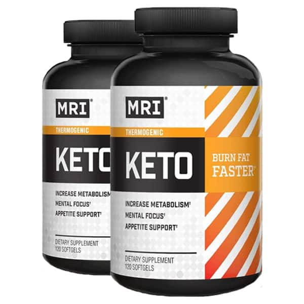 2-PACK MRI Keto Thermogenic FAT BURNER 120-Ct (240-ct total) for $7.99