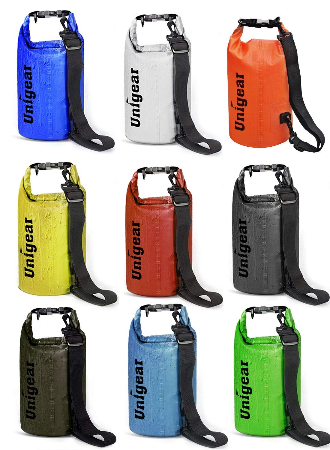 Unigear Floating Waterproof Dry Bag with Waterproof Phone Case (6 Sizes & 9 Colors) from - $5.69 + Free Shipping