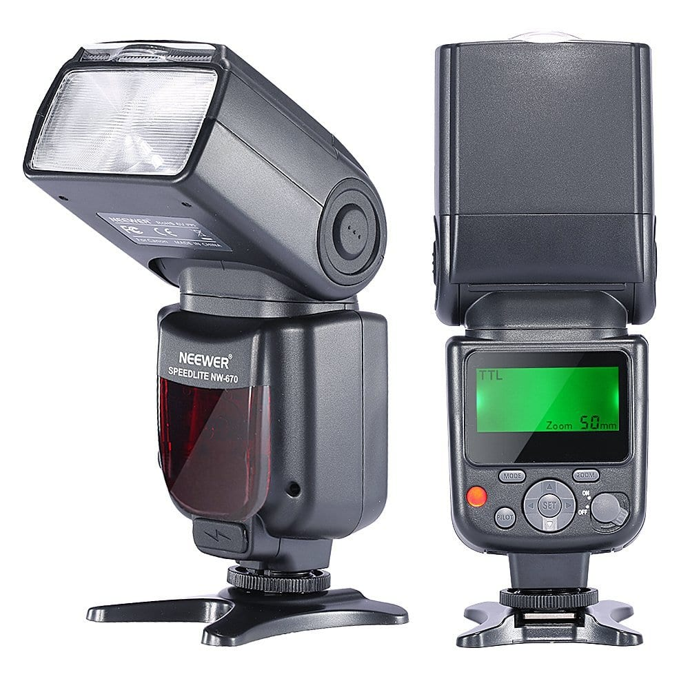 Neewer NW670 E-TTL Speedlite for Canon DSLR - $39.49 + Free Shipping
