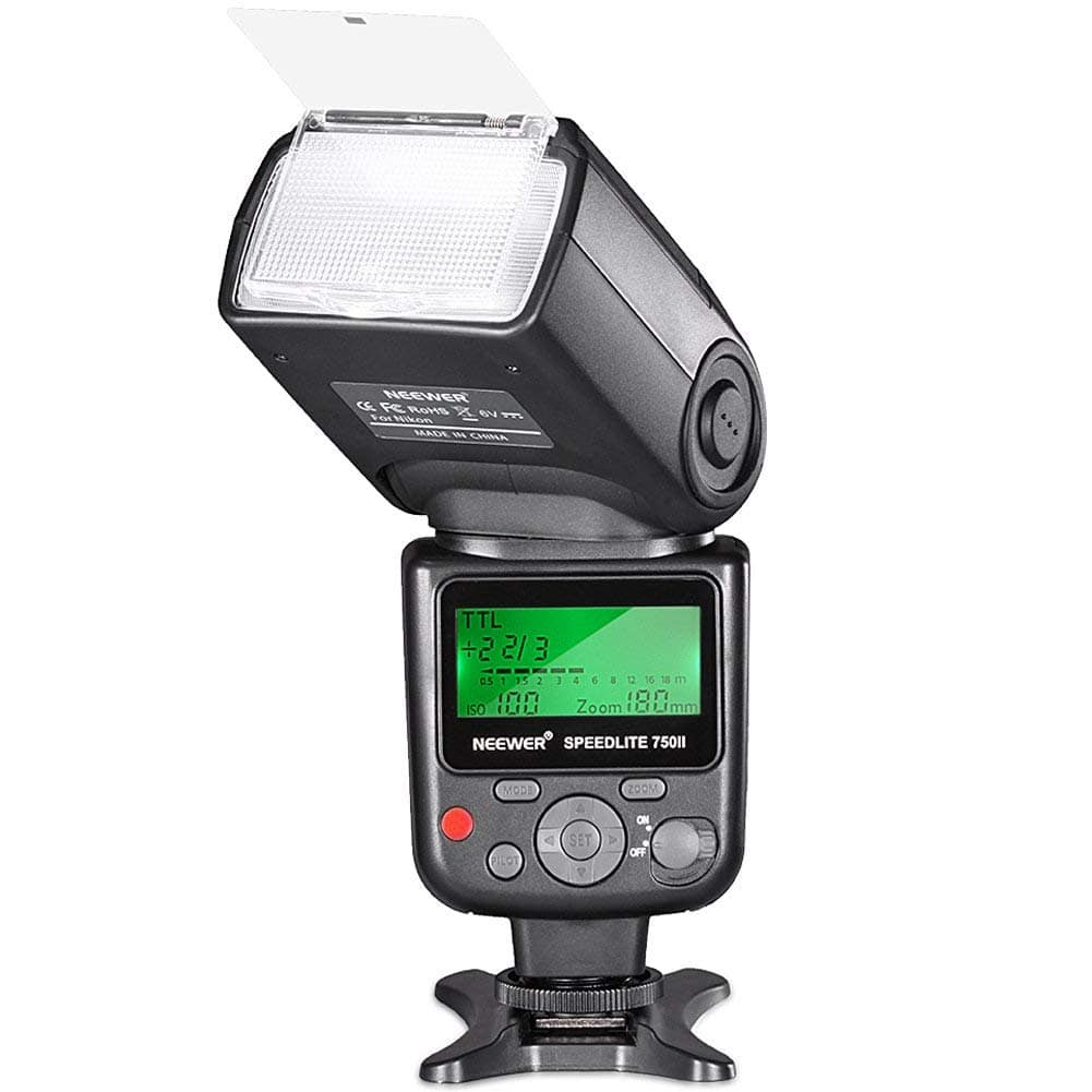 Neewer 750II TTL Flash Speedlite w/ LCD Display for Nikon DSLR Cameras - $41.24 + Free Shipping