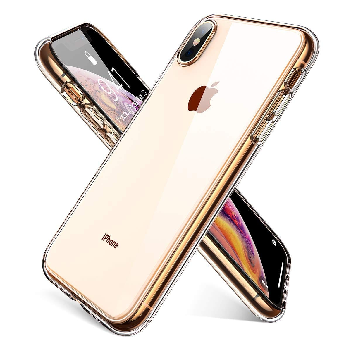 Ainope Crystal Clear iPhone Xs Max/ X Max Case (Anti-Discoloration) $2.90 + Free Shipping