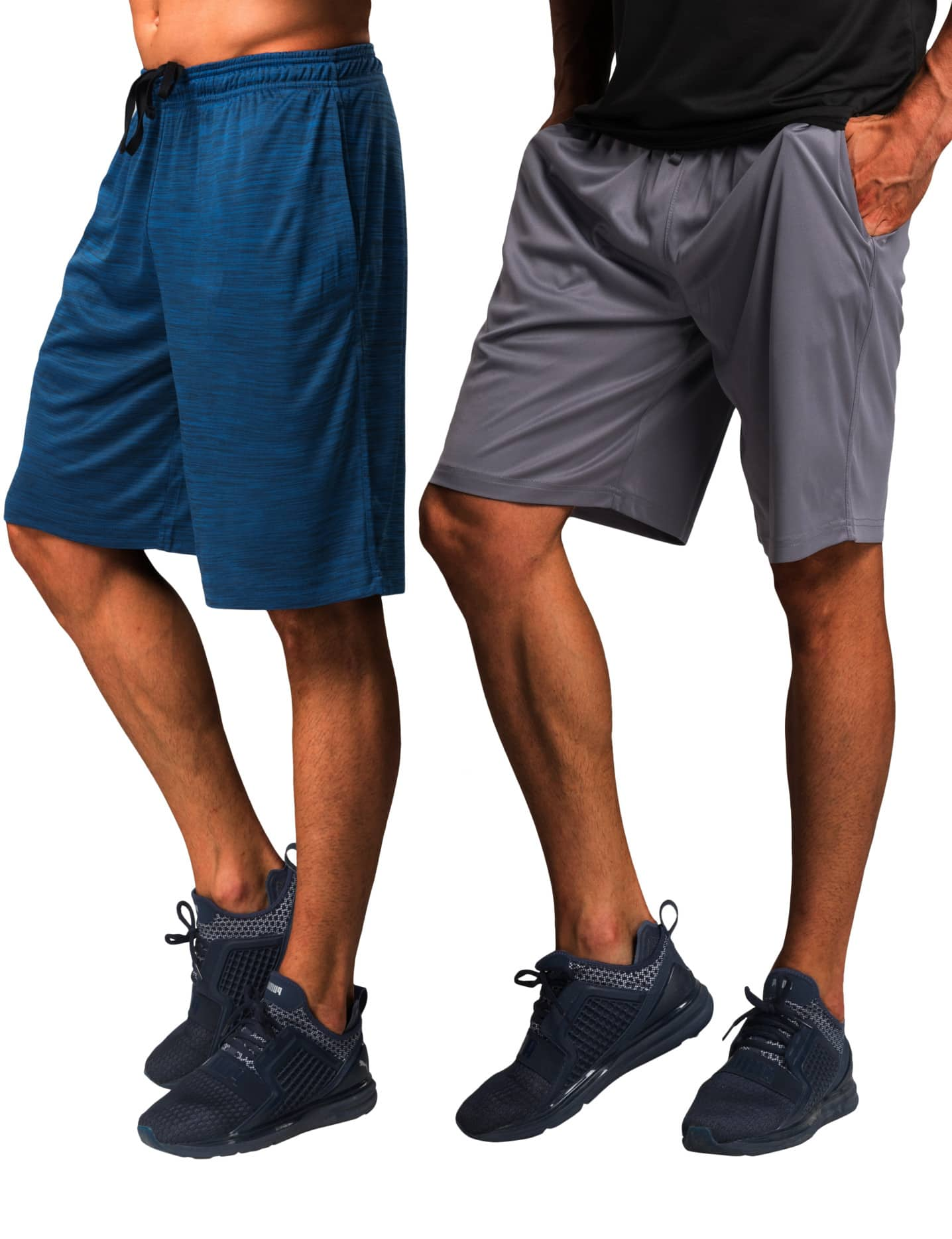 (2PK) CYZ Men's Performance Gym Shorts $7.99 + FSSS