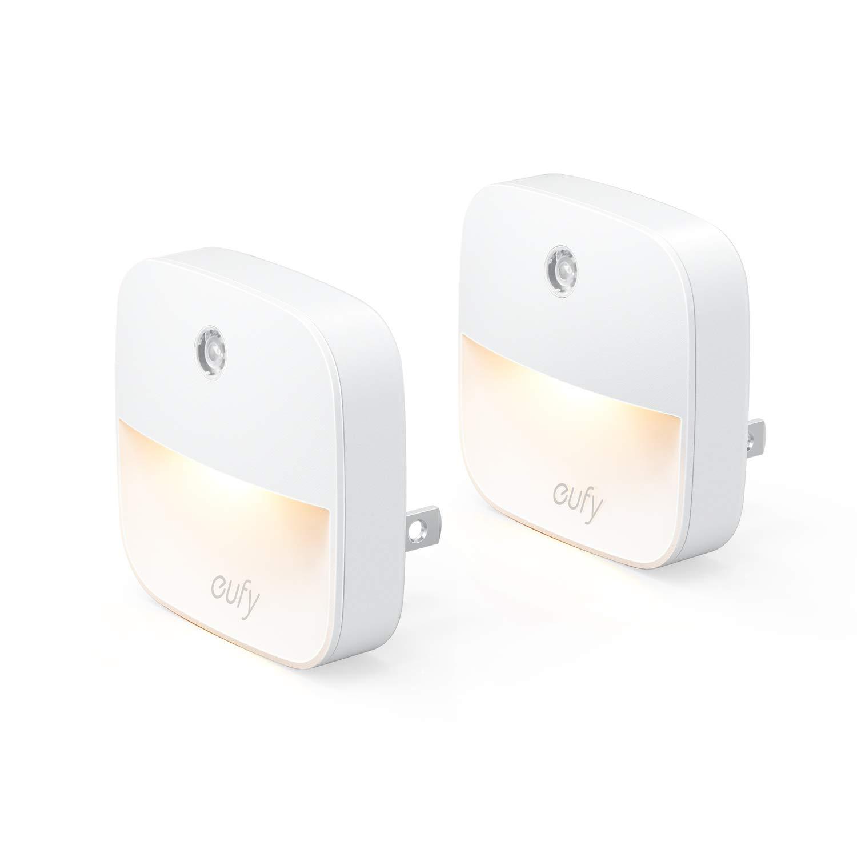 (2 Pack) Eufy Lumi Plug-in Sensor Night Light (Warm White LED Light) - $6.99 + FSSS