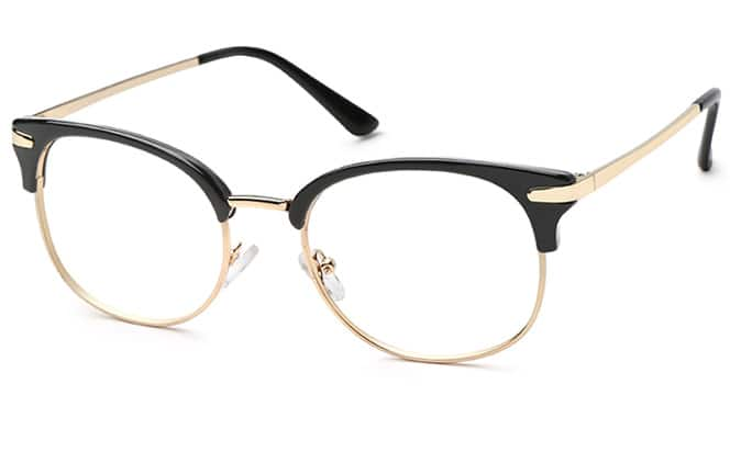 Zyanya Browline Eyeglasses $13.98 + $4.99 Shipping