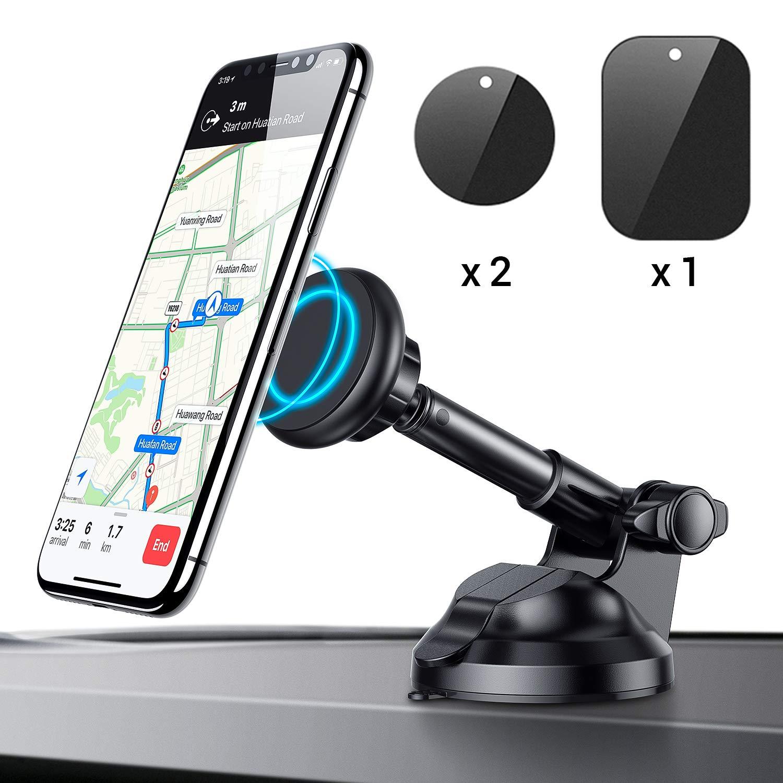 Ainope Magnetic Phone Car Mount 360° Rotation & Metal Telescopic Arm $9.34 + FSSS
