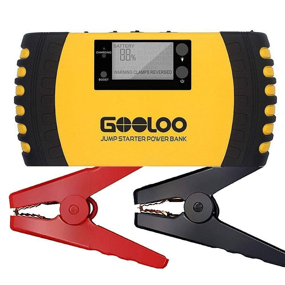 GOOLOO Car Jump Starter / USB Power Bank with Quick Charge 3.0 (20800mAh / 1000A Peak) $44.99 + FS