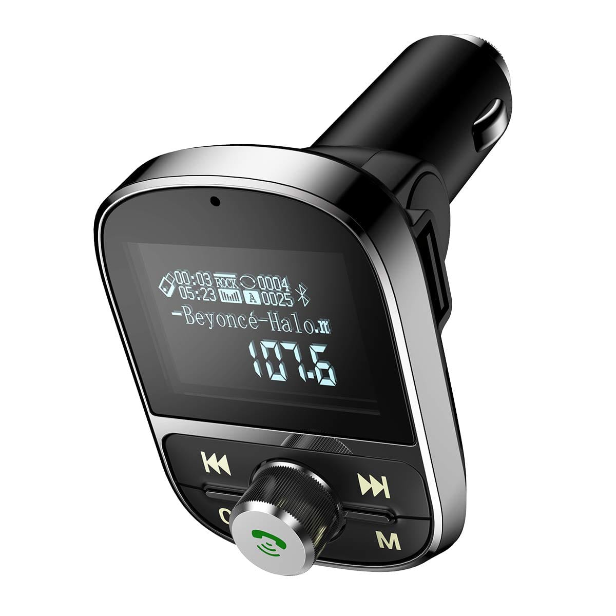 "Ainope 1.44"" LCD Display Wireless FM Transmitter $5.10 & more + FSSS"