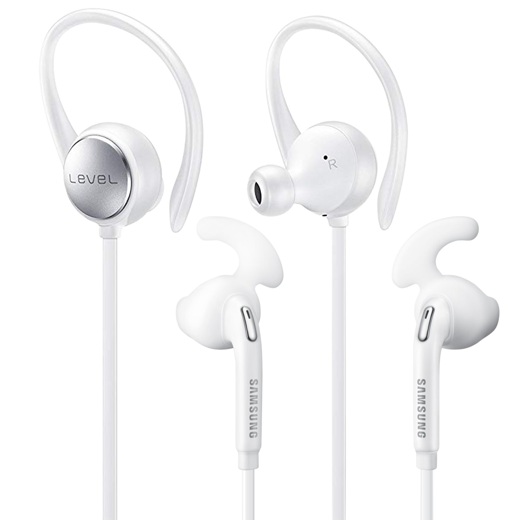 Samsung Level Active Bluetooth Wireless + Wired Headphones Bundle (White) $19 Shipped