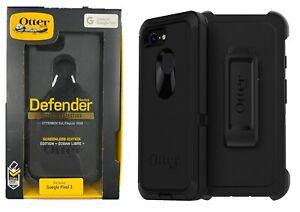 size 40 7e067 cbddd Google Pixel 3 OtterBox Defender Series Case with Belt Clip Holster ...