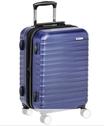 "Prime Member Deal: AmazonBasics Luggage: 20"" Hardside Spinner Carry-On $24.99 + Free S/H w/ Prime"