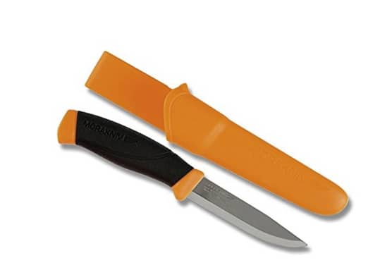 Prime Members: Morakniv Companion Fixed Blade Outdoor Knife (Various Colors) $7.10 + Free Shipping