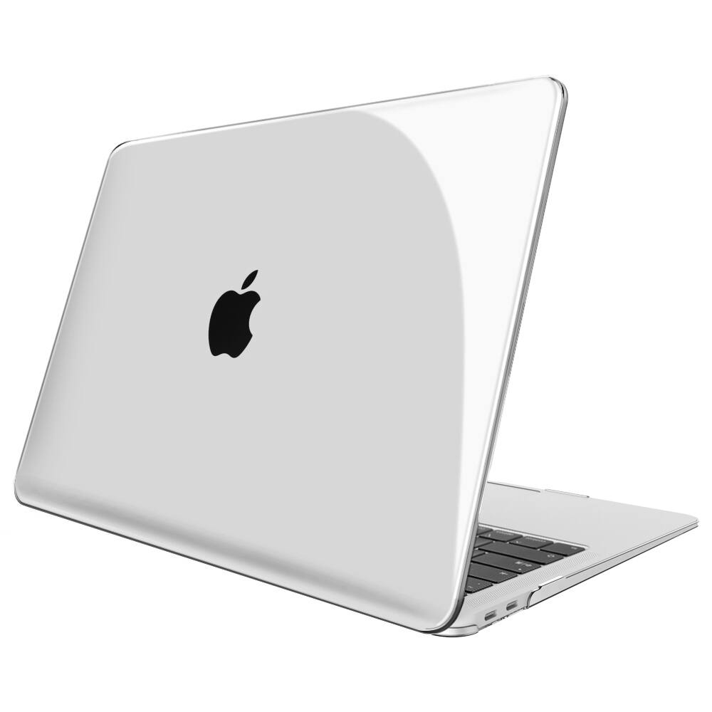 Fintie MacBook Air 13 Inch 2018 Release Snap On Hard Shell Cover (Crystal Clear) - $5.98 + FSSS