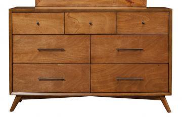 Alpine Flynn Acorn 7-Drawer Dresser $694 + Free Shipping