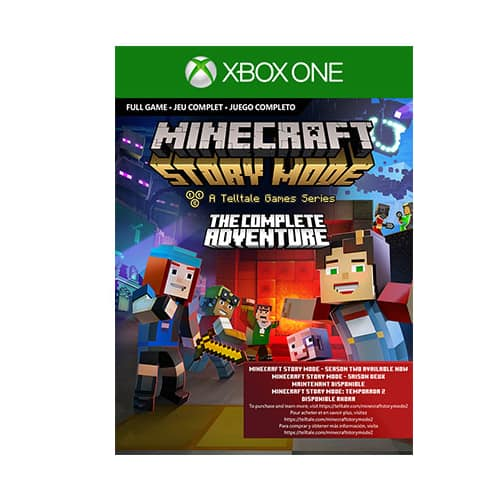 Minecraft Story Mode Complete Adventure Xbox One Digital (Email Delivery) $3.75