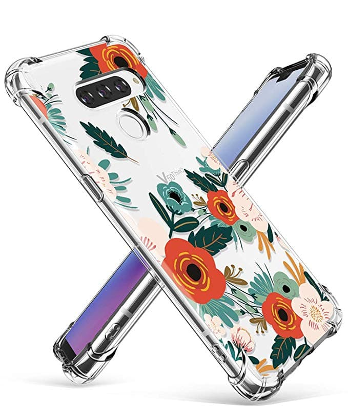 Gviewin Floral and Marble Series Cases for iPhone XS Max, XR, 8/7, LG G8/G8 ThinQ, G7/G7 ThinQ, LG V50 / V50 ThinQ, iPad 4/3/2, Air 3 2019/Pro 10.5, Mini 1/2/3 from $2.97 + FSSS
