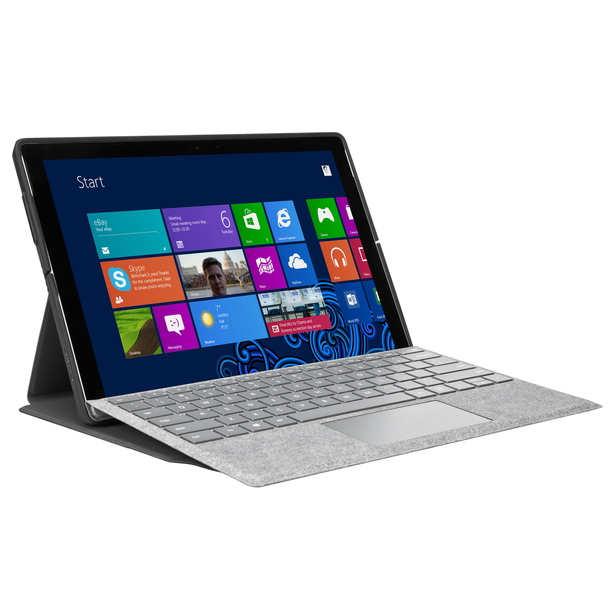 Folio Wrap + Stand for Microsoft Surface™ Pro 6, Surface Pro (2017) and Surface Pro 4 - $17.58 + Free Shipping