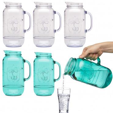 3pk Aladdin BPA-Free Plastic Mason Jar Pitchers $12 + Free Shipping