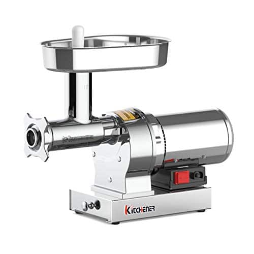 Kitchener Heavy Duty Commercial Grade (Electric Stainless Steel) Meat Grinder w/ 720lb Per Hr $244.79 + Free Shipping