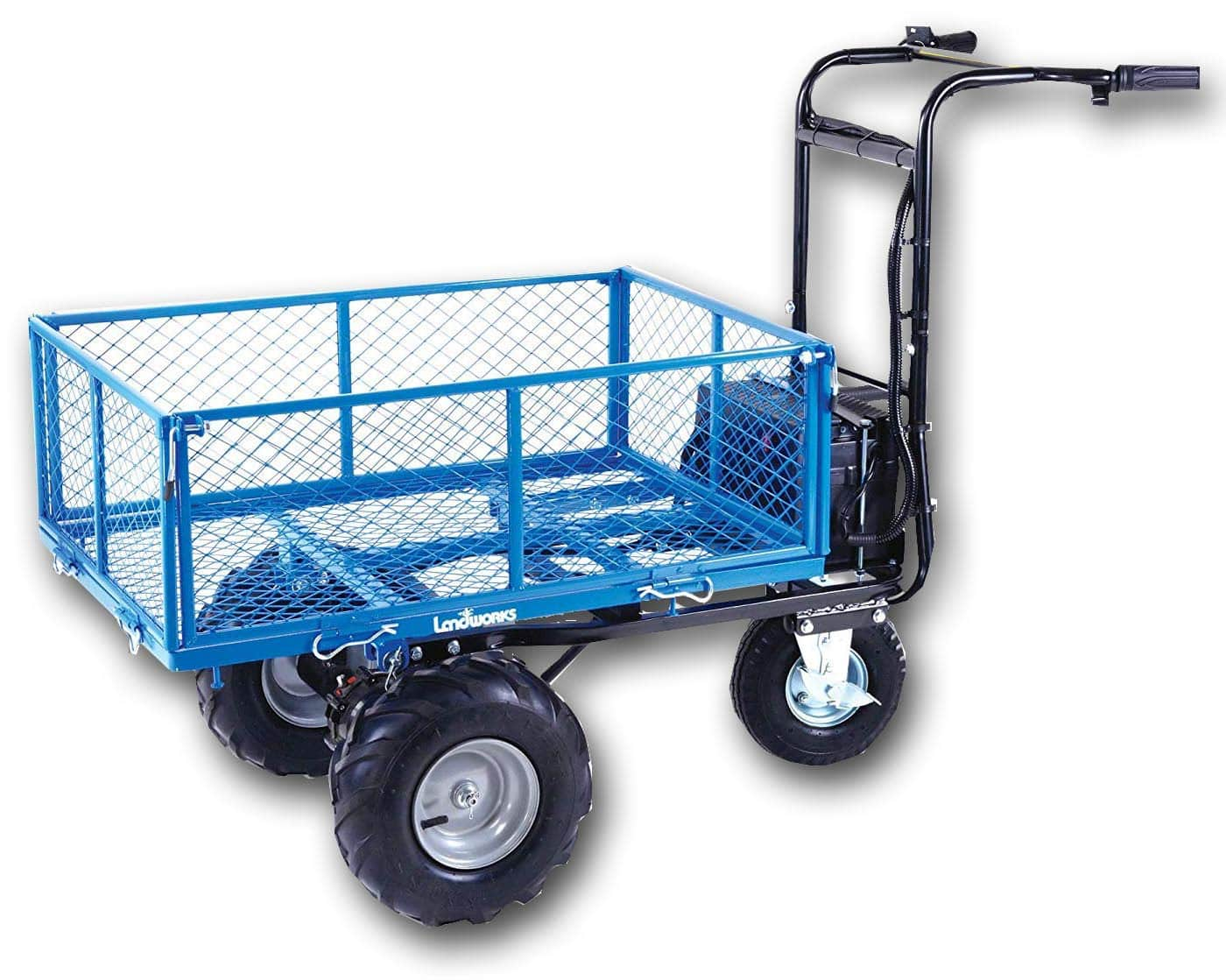 Lighting Deal: Landworks Utility Electric Wagon (48V DC 500W) 500LB Load Capacity & 1000LB+ Hauling for $543.99 + Free Shipping