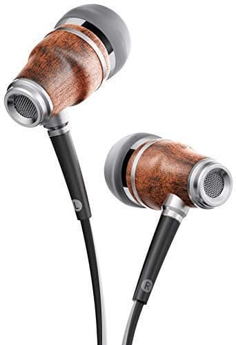 Symphonized NRG 3.0 Genuine Wood Earbuds with Mic and Volume Control for $10.49 + FSSS