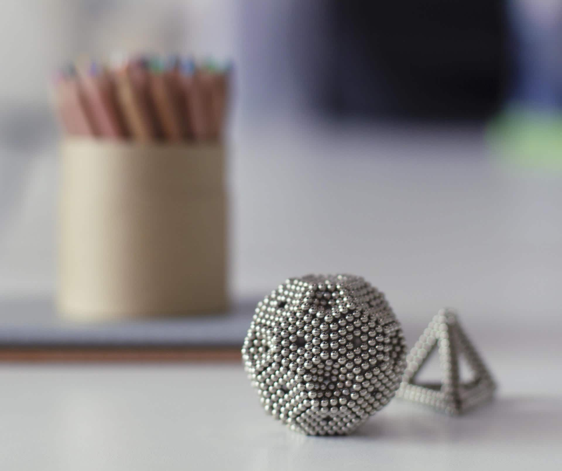 Desk Toy (Magnetic Balls) $12.48 + Free Shipping