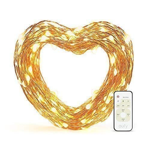Eufy 33 ft LED Dimmable String Lights with Remote Control - $9.99 + FSSS