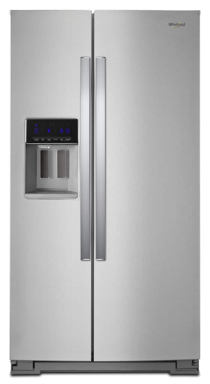 "Whirlpool WRS571CIHZ 36"" 21.6 cu. ft. Fingerprint Resistant Stainless Steel Counter Depth Side-by-Side Refrigerator $1139.99 + Free Shipping"