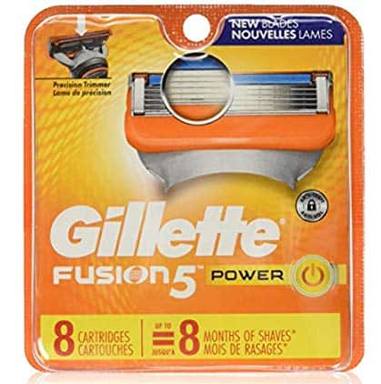 8 Cartridges Gillette Fusion Power Razor Refill Cartridges - $9.99 + Free Shipping for Prime Members