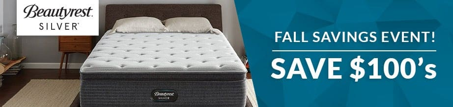 Beautyrest Silver Fall Savings Event from $399
