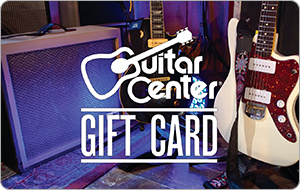 Buy a $100 Guitar Center Gift Card and get a $15 Promo Card