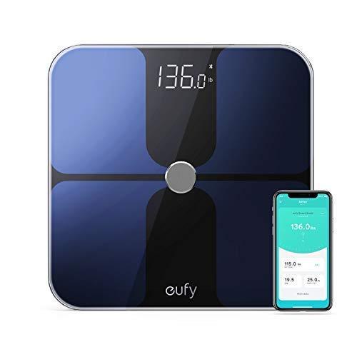 eufy Smart Wireless Digital Bathroom Scale with Bluetooth, Body Fat Measurements - $28.99 + FSSS