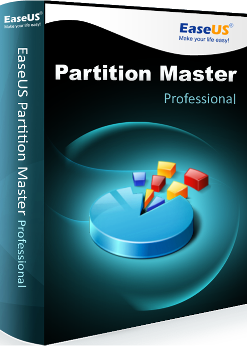 EaseUS Partition Master Professional 13.5 with Lifetime Upgrades $19.99
