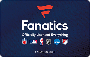 Buy a $50 Fanatics Gift Card for $40