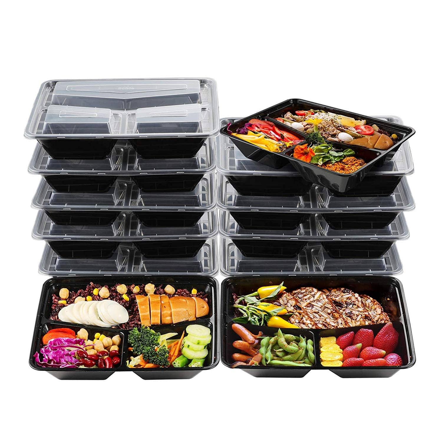 Sable Meal Prep Food Containers 32 oz (20 Pack) BPA Free $4.99 + FSSS