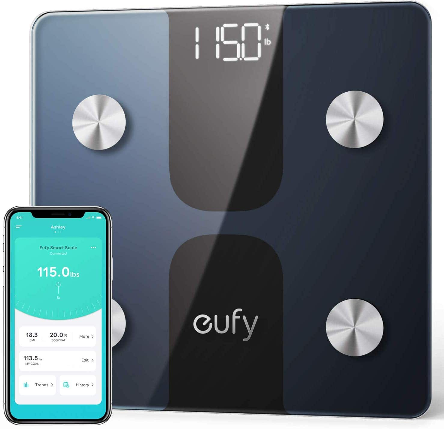 33% Off Eufy Smart Scale C1 Digital Bathroom Body Scale with Bluetooth 4.2 - $19.99 and More + FSSS