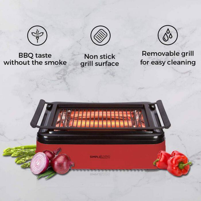 Simply Living Smokeless Indoor Grill $69 + Free Shipping