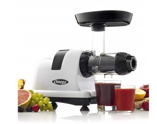 Omega J8006HDS Nutrition Center Quiet Dual-Stage Slow Speed Masticating Juicer Makes Fruit and Vegetable 80 Revolutions per Minute High Juice - $179.99 + FS for Prime Members