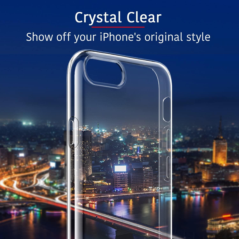 iPhone SE 2020 + iPhone 8/7 ESR Ultra-thin Slim Clear Case - $4.49 + FSSS