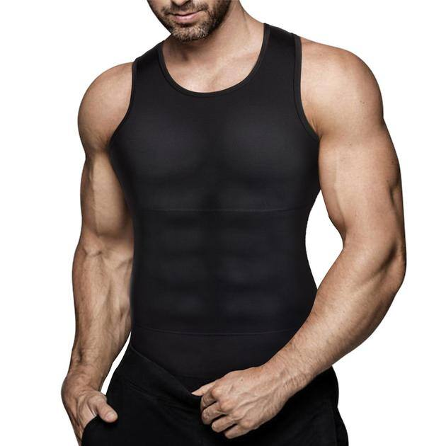 Junlan Summer Sale: Men's Compression Abdominal Control Tank Top $18.57 + Free Shipping