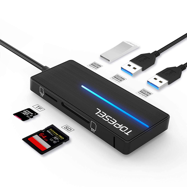KOOTION 4-Port USB 3.0 Hub -  $5.39 + FSSS