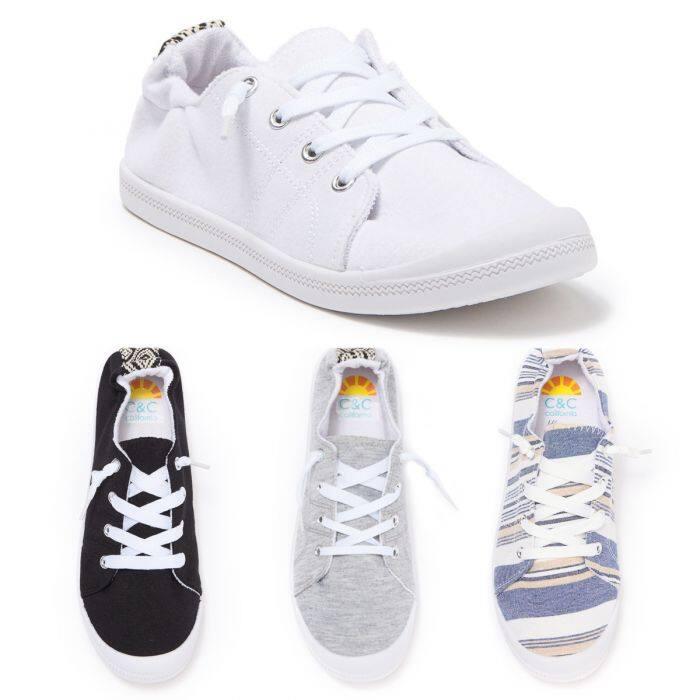 C&C California Scrunch-Back Sneakers for Women $16 + Free Shipping