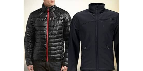 Spyder Men's Prymo Down ($40.99-62.99) and Softshell Jackets ($32.99-$62.99)
