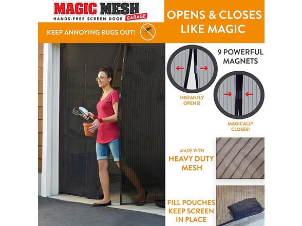 Magic Mesh Hands Free Magnetic Screen Doors - $9.99 - $20.99