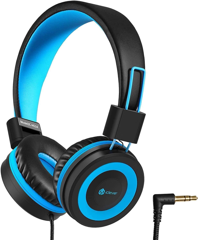 iClever HS14 Kids Headphones w/ 94dB Volume Limited + Adjustable Headband for $13.29 + FSSS