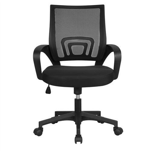 Smilemart Mid Back Adjustable Rolling Desk Chair $48.99 + Free shipping