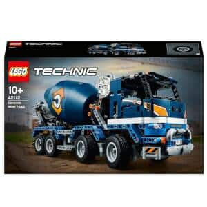 LEGO Technic: Mobile Crane Truck Set (42108) and Concrete Mixer Truck Construction Set (42112) for $189.99 + Free Shipping