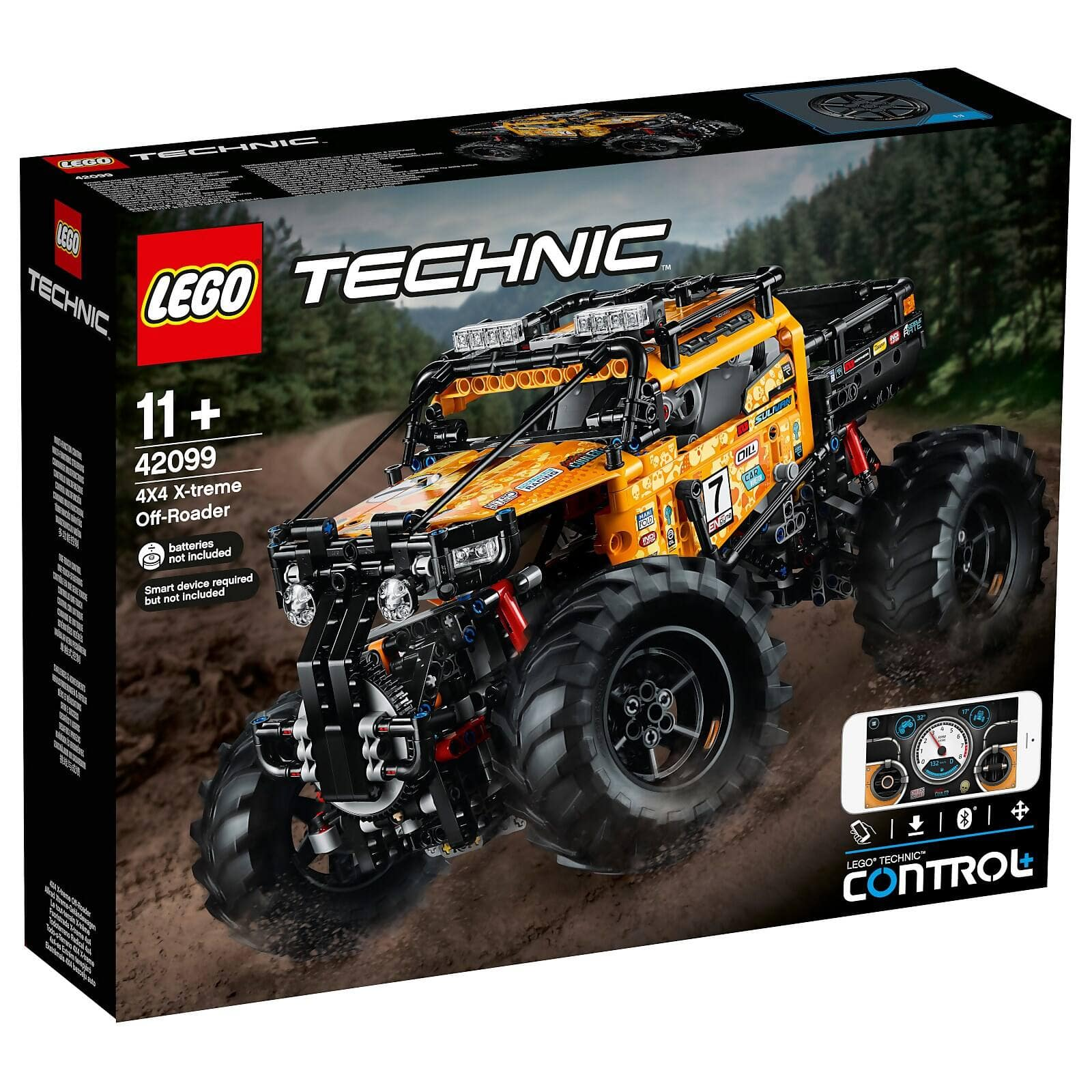 LEGO Technic: Control+ 4x4 X-treme Off-Roader Truck Set (42099) $166.99 with Free Shipping