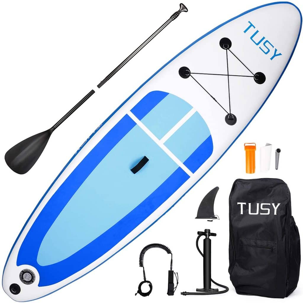 TUSY 10FT Inflatable Paddle Boards $210 + Free Shipping