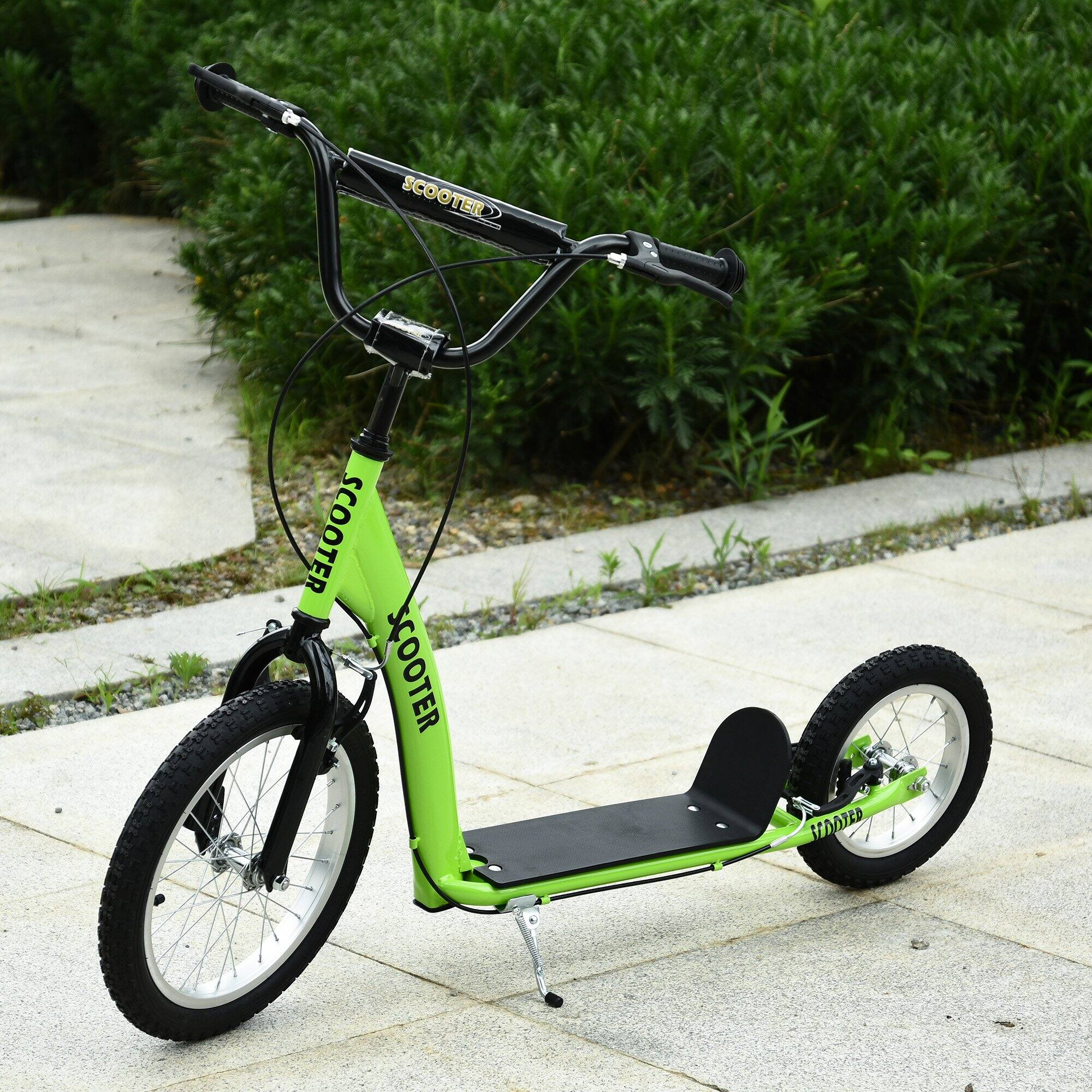 Aosom Youth Scooter Ride On Toy For Kids 5+ $49.99 + Free Shipping